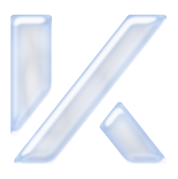 KIGTEK bubble K icon